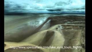 Latest Lake Eyre flood videos plus http://www.spiritsafaris.com/lake_eyre_tours_flights