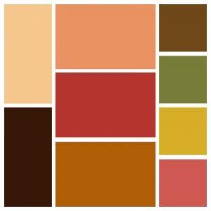 Теплые цвета для гардероба Эти сочетания будут подходить людям с теплым подтоном кожи и оттенком волос.