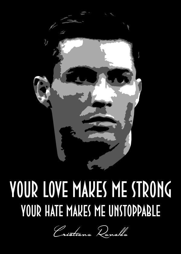 Cristiano Ronaldo  Cristiano Ronaldo Gallery quality print on thick 45cm / 32cm metal plate. Each Displate print verified by the Production Master. Signature and hologram added to the back of each plate for added authenticity & collectors value. Magnetic mounting system included.  EUR 42.00  Meer informatie