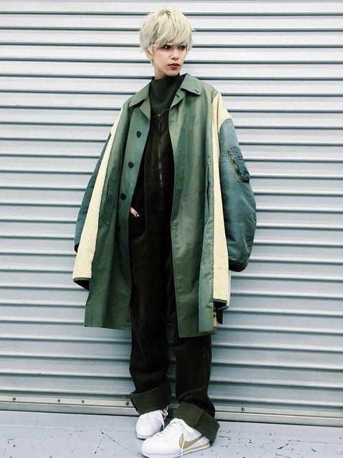 Unaさんのシャツ/ブラウス「Steven Alan <Steven Alan>DOUBLE CLOTH BOTTLE NECK BLOUSE/ブラウス」を使ったコーディネート