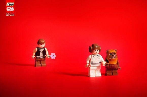 Lego Star Wars scenesGeek, Awesome Lego, Lego Star Wars, Lego Starwars, Lego Stars Wars, Advertis, Hans Solo, Heart Broken, Read Princesses
