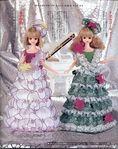 Мобильный LiveInternet Королевские платья для кукол. Выкройки кукольной одежды. | Natali_Zaz - Дневник Natali_Zaz |