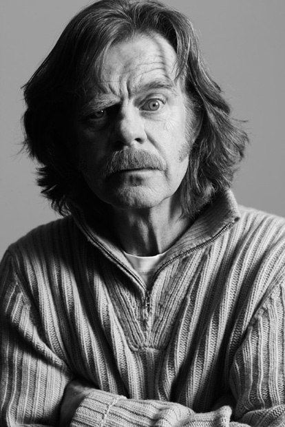 William H. Macy (1950) - American actor, screenwriter, teacher and director in theater, film and television. Photo at Sundance by Kirk Edwards.