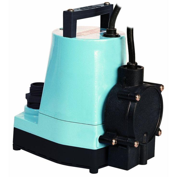 Little Giant 505355 Automatic Hydroponic Pump, 1200GPH