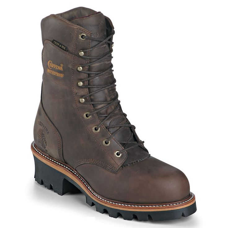 """Chippewa Men's Super Logger 9"""" Insulated Work Boots"""