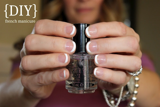 Easy french manicure pinterest
