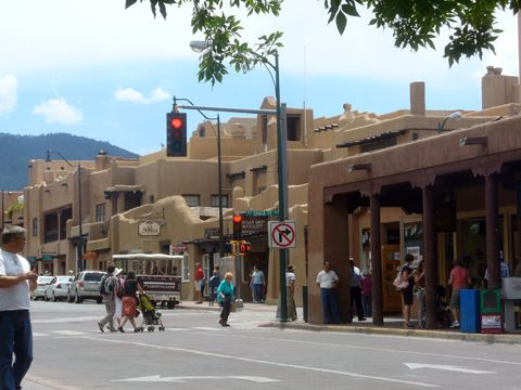 Downtown Santa Fe, New Mexico...cannot wait for the next trip to see my Aunt