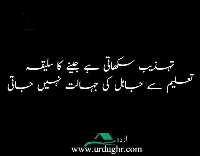 Heart Touching Quotes in Urdu in 2020   Touching quotes ...