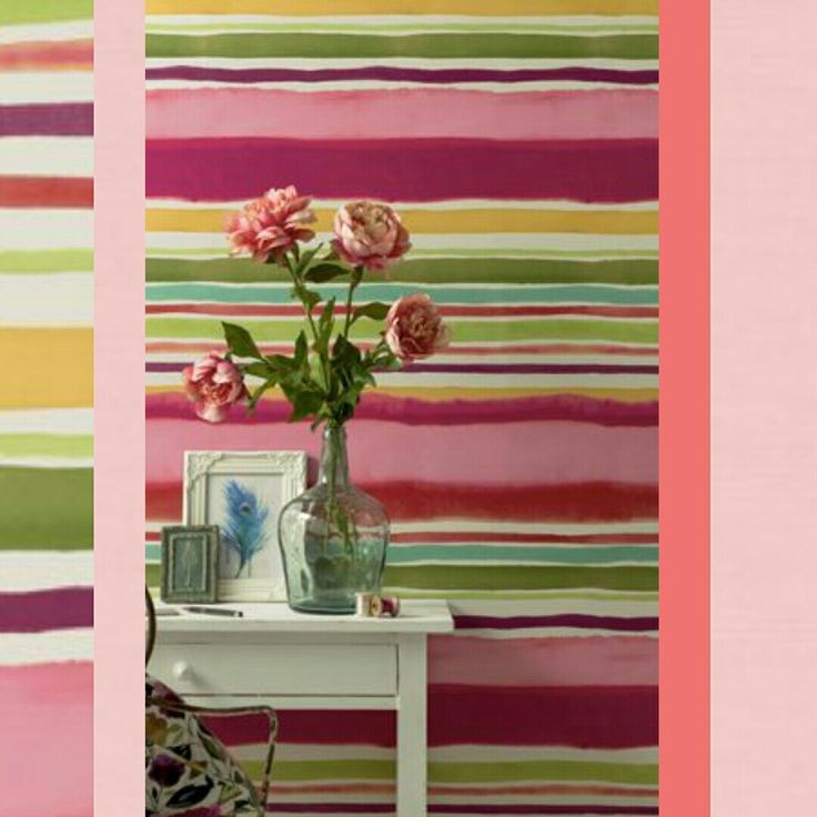 Brave stripes... Bold and beautiful!