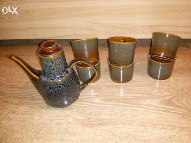 Zestaw do grzańca, kawy, herbaty 6 kubków i dzbanek kubek grzaniec Zabrze - image 1