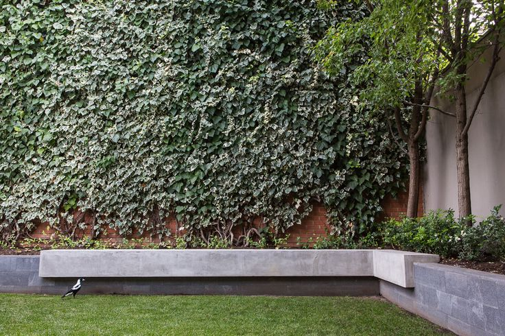 North Adelaide residence - Granite & concrete seating