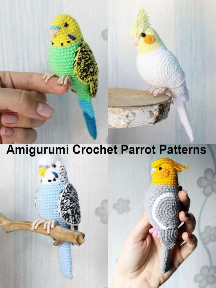 Crochet plush Bird Cockatiel Valentine's Day Gift for boyfriend Amigurumi toy Lovebird stuffed animal Bird decor unique gift for her pet  #Promotion… #PaidAd #ad #affiliatelink