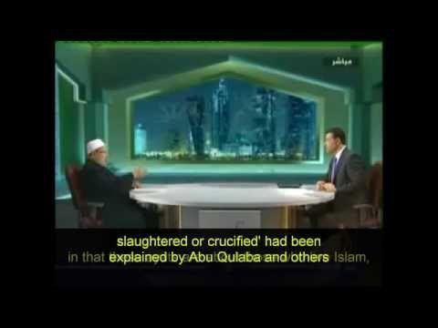 Yusuf al Qaradawi  Killing Of Apostates Is Essential For Islam To Survive