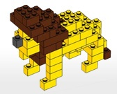 Leeuw van lego (gemiddeld)