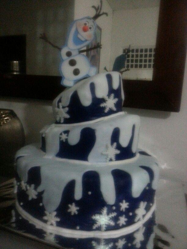 Maqueta de frozen.. Para fiesta infantil...informacion  hanna0293@hotmail.com