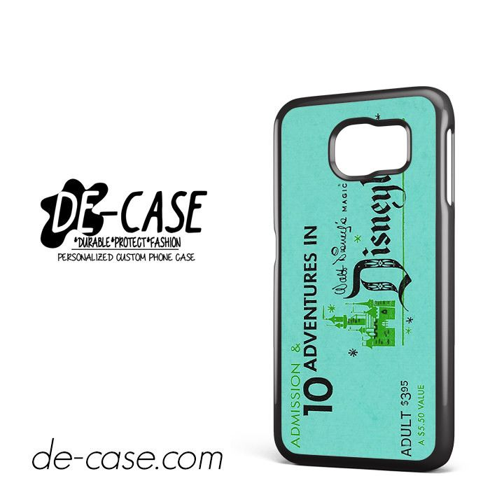 Disneyland Ticket DEAL-3461 Samsung Phonecase Cover For Samsung Galaxy S6 / S6 Edge / S6 Edge Plus