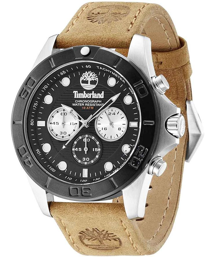 TIMBERLAND Northfield Chrono Brown Leather Strap Η τιμή μας: 157€ http://www.oroloi.gr/product_info.php?products_id=35608