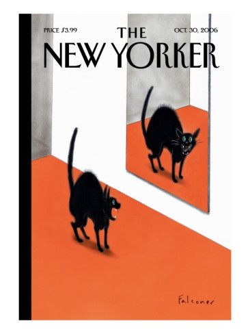 The New Yorker | cover art by Ian Falconer