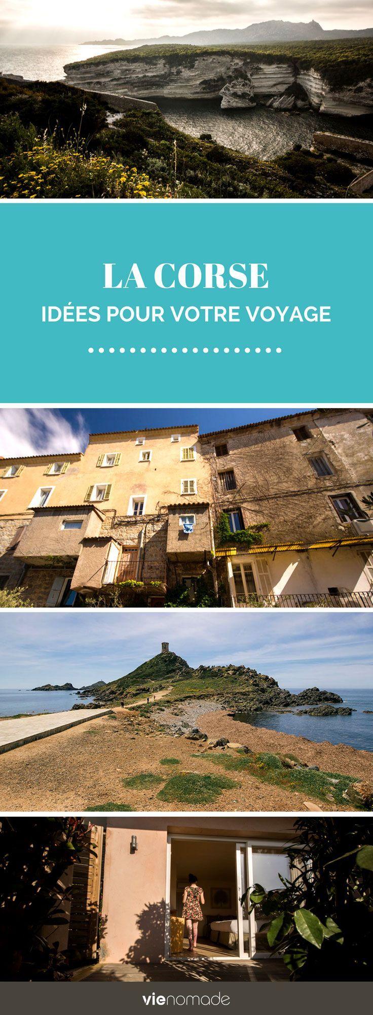 Visiter la Corse: bons plans, adresses et guide! J'ai regroupé ici toutes les ressources pour organiser votre voyage en Corse, ainsi que tous les récits qui vous inspireront afin de tracer votre itinéraire de road trip à travers ce sublime bout de Méditerranée à nulle autre pareil.  #corse #voyage #bonifacio #portovecchio #ajaccio