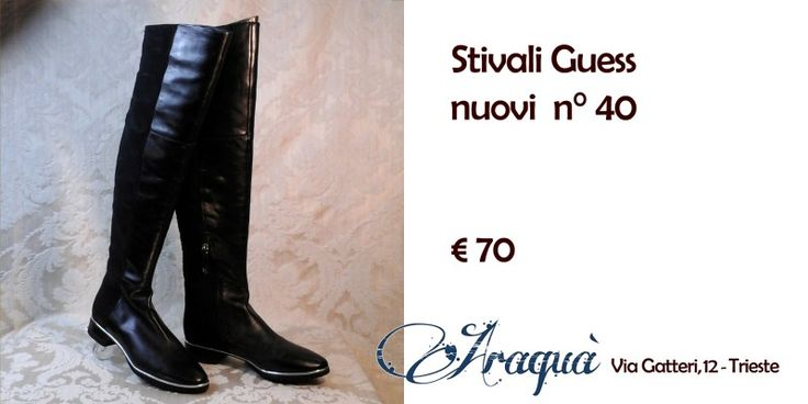 Stivali Guess nuovi n° 40 € 70