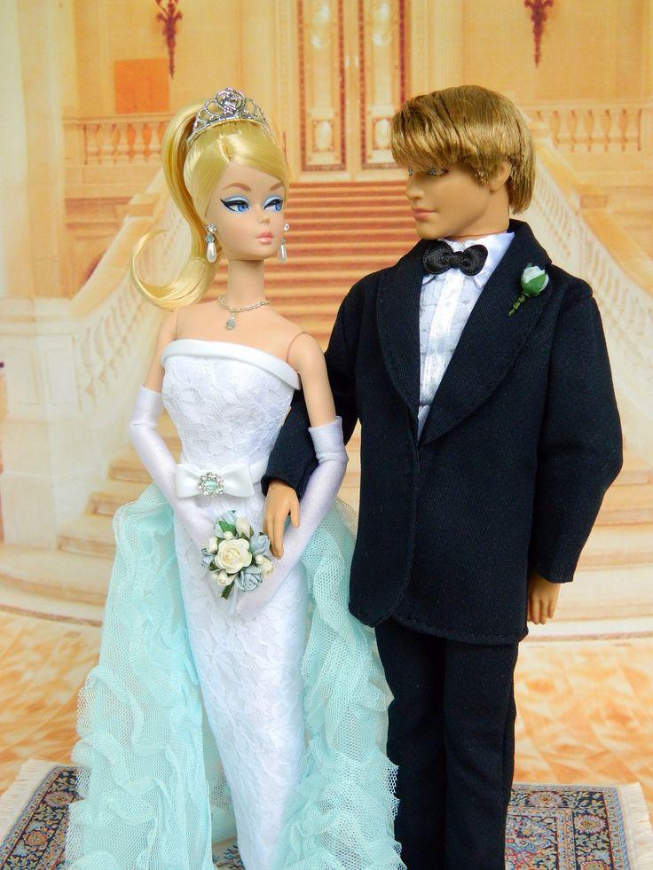 i do ooak bridal fashion for silkstone barbie amp ken