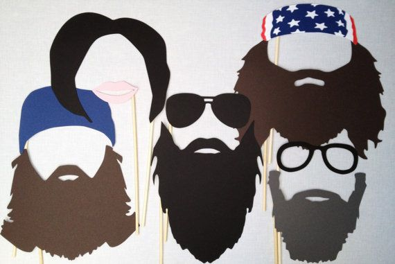 Photo Booth Props  Duck Dynasty Photo Props  Duck by CleverMarten, $18.00