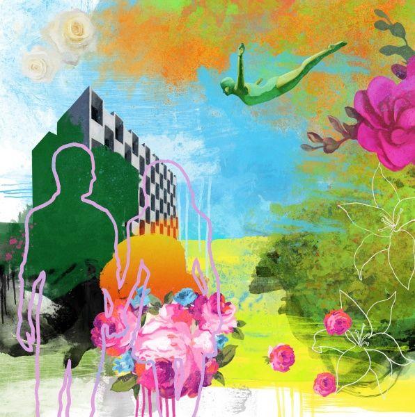 Rino Larsen - Funky Garden III - Artgate - norsk kvalitetsgrafikk