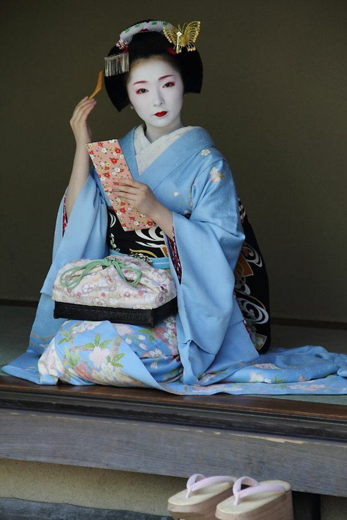geishas outfit japanische kultur