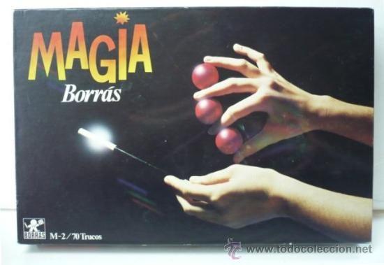 JUEGO MAGIA BORRAS M-2. CON 70 TRUCOS. AÑOS 80. BIEN CONSERVADO.
