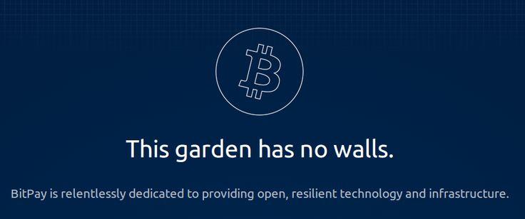 The #Bitcoin garden has no walls.