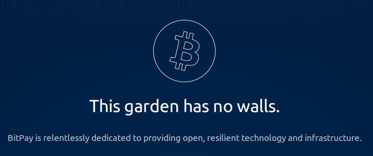 The #Bitcoin garden has no walls.
