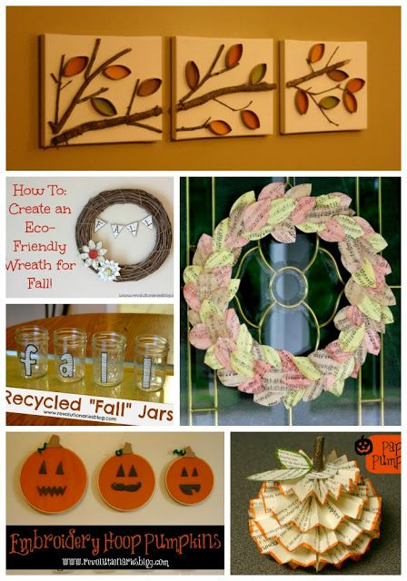 Lots of fall craft projects!