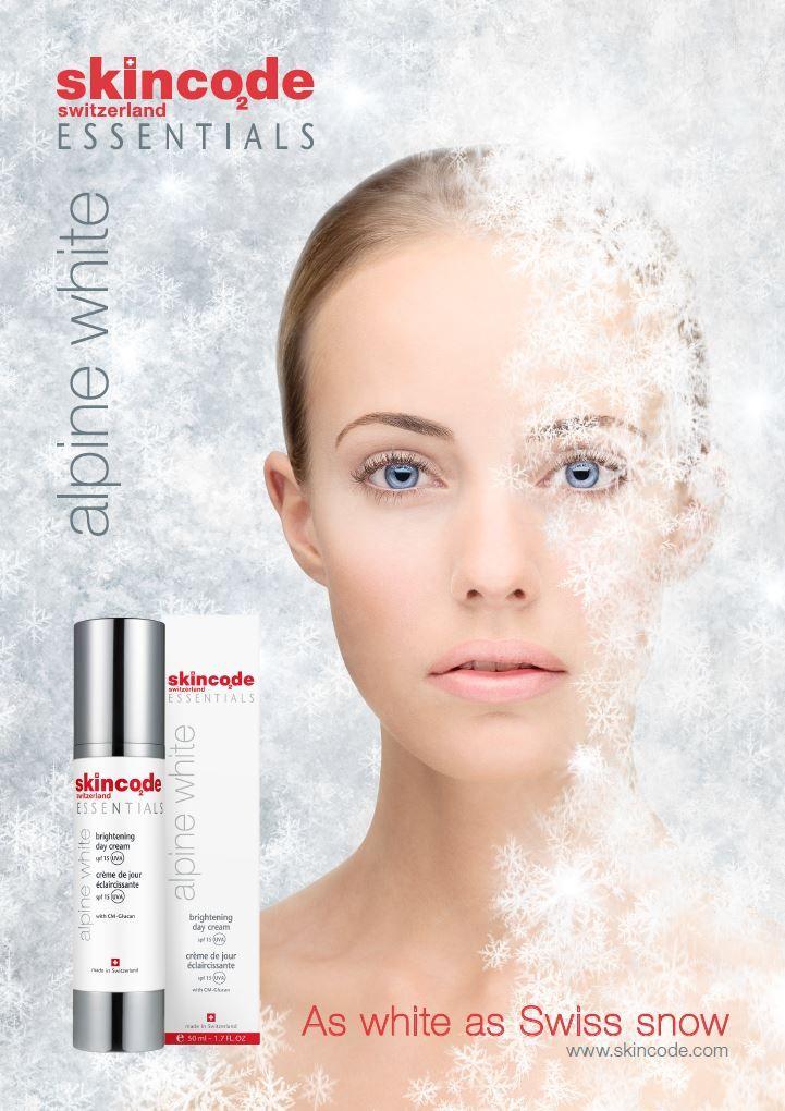 Beauty Enxhi: Krem dite me efekt zbardhues Alpine White, Skincode
