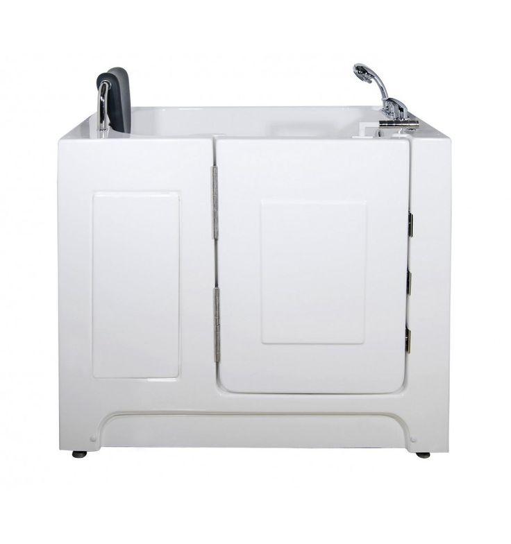 Baignoire à porte ZIKA, 120 * 69 * 940 cm pour personnes à mobilité reduite - baignoire design - mobilier salle de bain