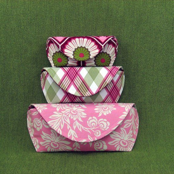 All new PDF sewing pattern Clutch and cases by StudioCherie, $7.00
