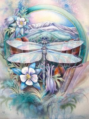 Magic Dragonflies, Their Secrets And How To Paint Their Wings