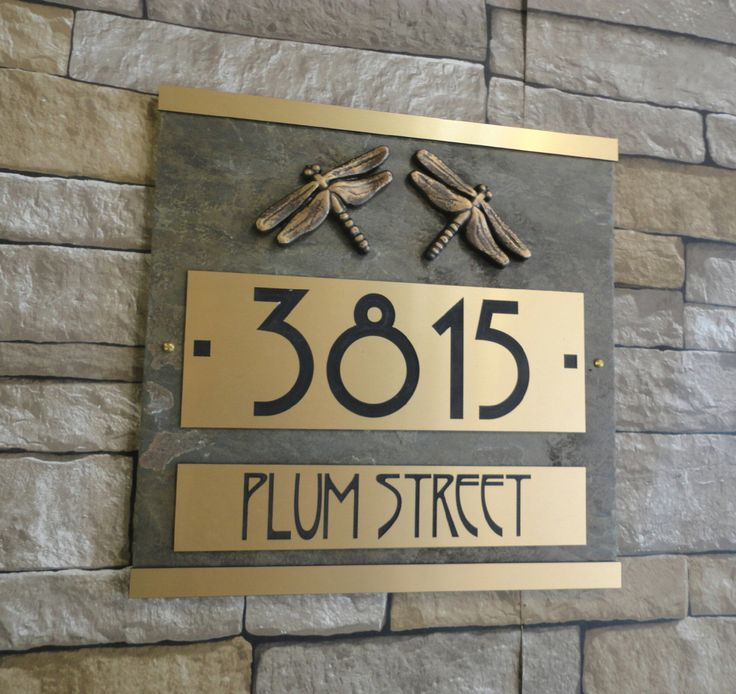 Best 20 craftsman house numbers ideas on pinterest for Location plaque garage
