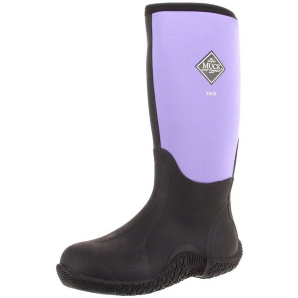Muck Boot Muckboots Women's Tack Hi Equestrian Boot ($112) ❤ liked on Polyvore