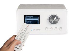 http://amzn.to/2hkADtm BLAUPUNKT IRD 30 Internetradio– DAB+-Radio – Digitalradio mit Radiowecker - Wlan Küchenradio– Digital-Radio als Badradio - DAB - UKW-Tuner – Miniradio in Retro-Design – Uhrenradio