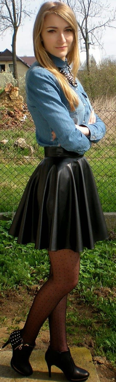 I really LOVE theses skater skirts!