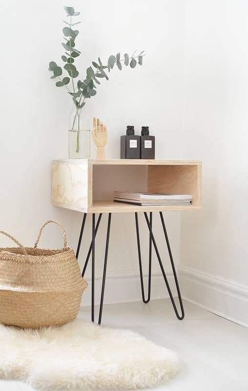 stylish side table by Burkatron