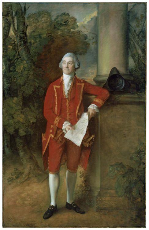 John Eld of Seighford Hall, Stafford, Thomas Gainsborough, 1775