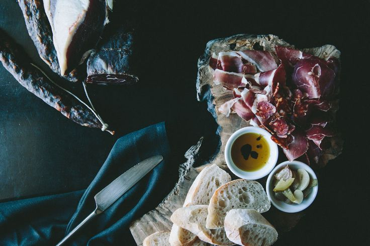 Our legendary Charcuterie boards with house-smoked and house-cured meats including wild boar