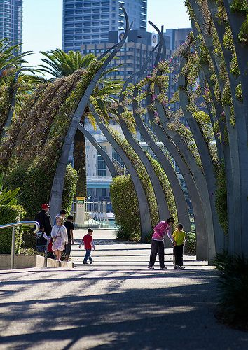 The Grand Arbour - Southbank, Brisbane #Australia. This is just such a nice area to stroll along.