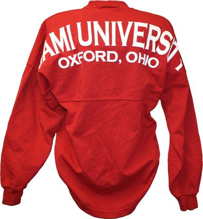 Spirit Football Jersey Miami University Oxford Ohio | Miami University Bookstore