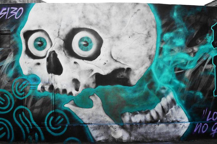 """""""Los que seguimos, no quedamos en el camino"""" Detalle (Buenos Aires - Argentina)  #Graffiti #Argentina #BuenosAires #Ezpeleta #Gade #SantoUno #89"""
