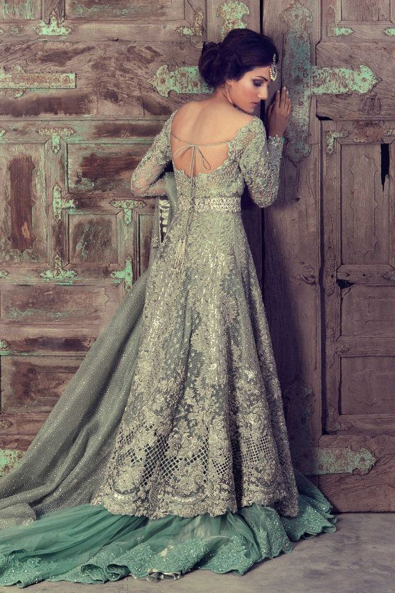 Elan replica pakistani indian bridal party wear by GennyRodz
