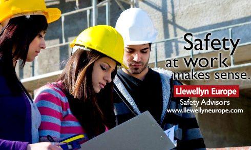 Safety at work make sense.