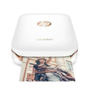 Imprimante photo de poche HP - Sprocket - Blanc- impression instantanée - Prix pas cher - Les soldes* sur Cdiscount ! Cdiscount
