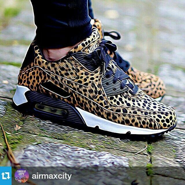 nike air max 90 mujer leopardo